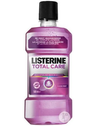 LISTERINE TOTAL CARE- 500 ML/FIOLET
