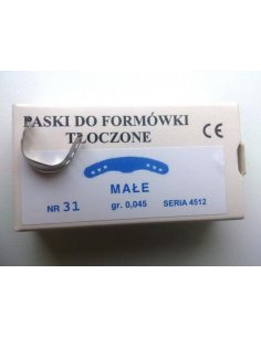 PASKI TŁOCZONE 31-MAŁE /IVORY